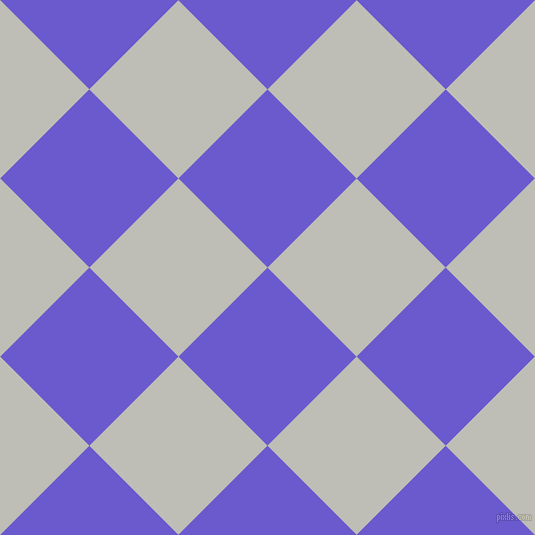 45/135 degree angle diagonal checkered chequered squares checker pattern checkers background, 126 pixel square size, , Slate Blue and Silver Sand checkers chequered checkered squares seamless tileable