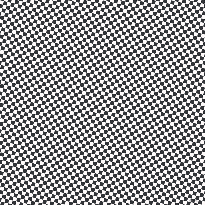 77/167 degree angle diagonal checkered chequered squares checker pattern checkers background, 13 pixel square size, , Snow and Ebony Clay checkers chequered checkered squares seamless tileable