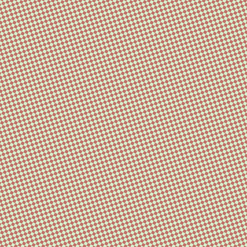 63/153 degree angle diagonal checkered chequered squares checker pattern checkers background, 10 pixel squares size, Snowy Mint and Contessa checkers chequered checkered squares seamless tileable