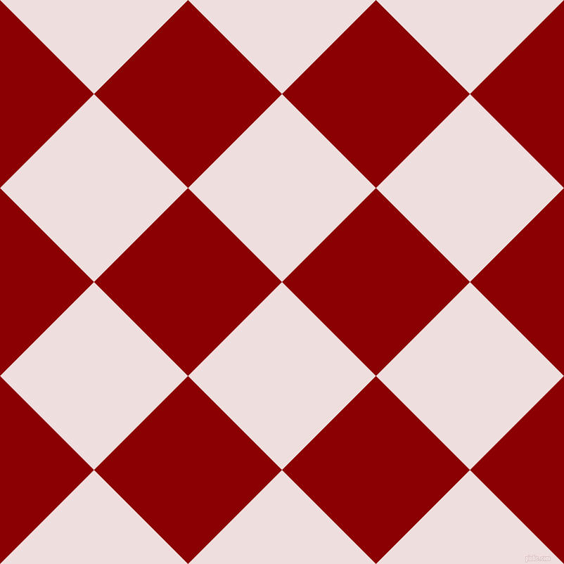 45/135 degree angle diagonal checkered chequered squares checker pattern checkers background, 189 pixel square size, , Soft Peach and Dark Red checkers chequered checkered squares seamless tileable