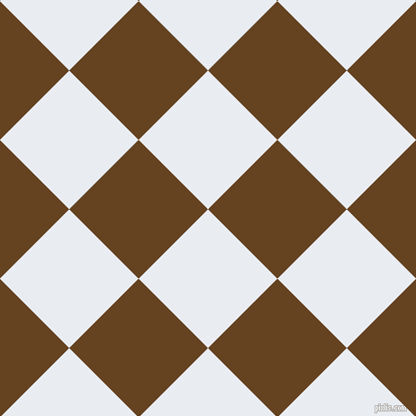 45/135 degree angle diagonal checkered chequered squares checker pattern checkers background, 109 pixel squares size, , Solitude and Dark Brown checkers chequered checkered squares seamless tileable