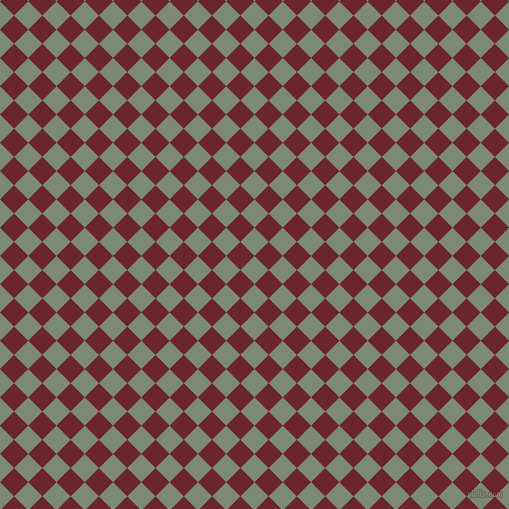 45/135 degree angle diagonal checkered chequered squares checker pattern checkers background, 20 pixel squares size, , Spanish Green and Monarch checkers chequered checkered squares seamless tileable