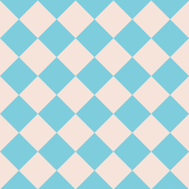 45/135 degree angle diagonal checkered chequered squares checker pattern checkers background, 87 pixel square size, , Spray and Provincial Pink checkers chequered checkered squares seamless tileable
