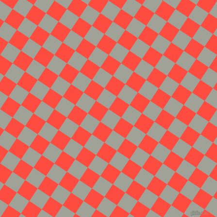 56/146 degree angle diagonal checkered chequered squares checker pattern checkers background, 31 pixel square size, , Star Dust and Sunset Orange checkers chequered checkered squares seamless tileable