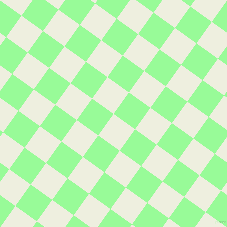 54/144 degree angle diagonal checkered chequered squares checker pattern checkers background, 87 pixel squares size, , Sugar Cane and Pale Green checkers chequered checkered squares seamless tileable