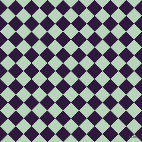 45/135 degree angle diagonal checkered chequered squares checker pattern checkers background, 37 pixel squares size, , Surf and Blackcurrant checkers chequered checkered squares seamless tileable