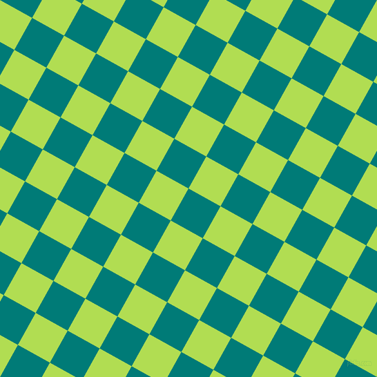 61/151 degree angle diagonal checkered chequered squares checker pattern checkers background, 53 pixel squares size, , Surfie Green and Conifer checkers chequered checkered squares seamless tileable