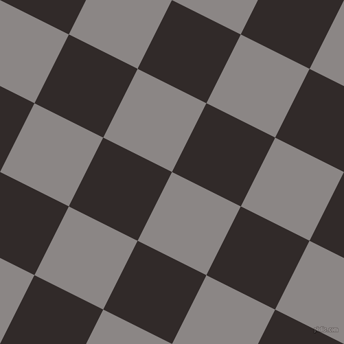 63/153 degree angle diagonal checkered chequered squares checker pattern checkers background, 112 pixel squares size, , Suva Grey and Livid Brown checkers chequered checkered squares seamless tileable