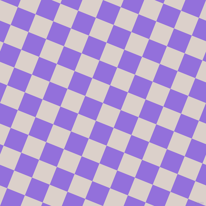 68/158 degree angle diagonal checkered chequered squares checker pattern checkers background, 79 pixel square size, , Swiss Coffee and Medium Purple checkers chequered checkered squares seamless tileable