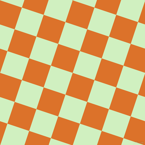 72/162 degree angle diagonal checkered chequered squares checker pattern checkers background, 78 pixel squares size, , Tahiti Gold and Tea Green checkers chequered checkered squares seamless tileable