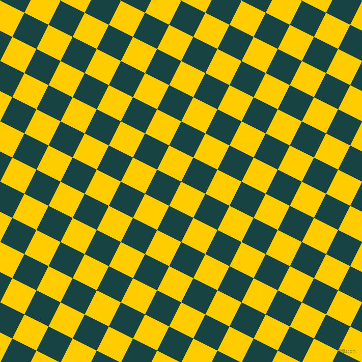 63/153 degree angle diagonal checkered chequered squares checker pattern checkers background, 53 pixel squares size, , Tangerine Yellow and Tiber checkers chequered checkered squares seamless tileable