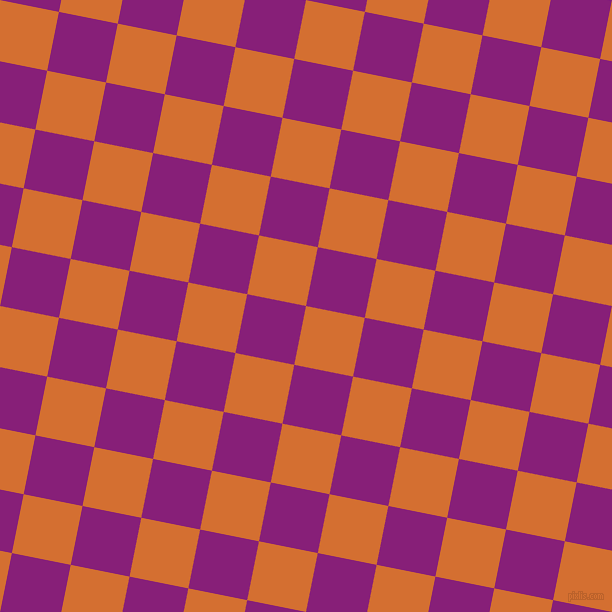 79/169 degree angle diagonal checkered chequered squares checker pattern checkers background, 60 pixel squares size, , Tango and Dark Purple checkers chequered checkered squares seamless tileable