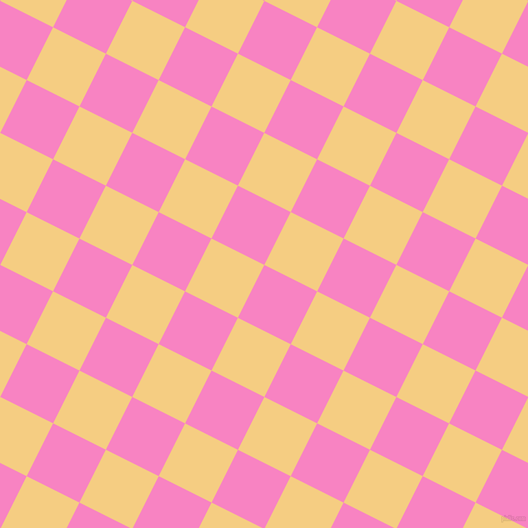 63/153 degree angle diagonal checkered chequered squares checker pattern checkers background, 86 pixel square size, , Tea Rose and Cherokee checkers chequered checkered squares seamless tileable