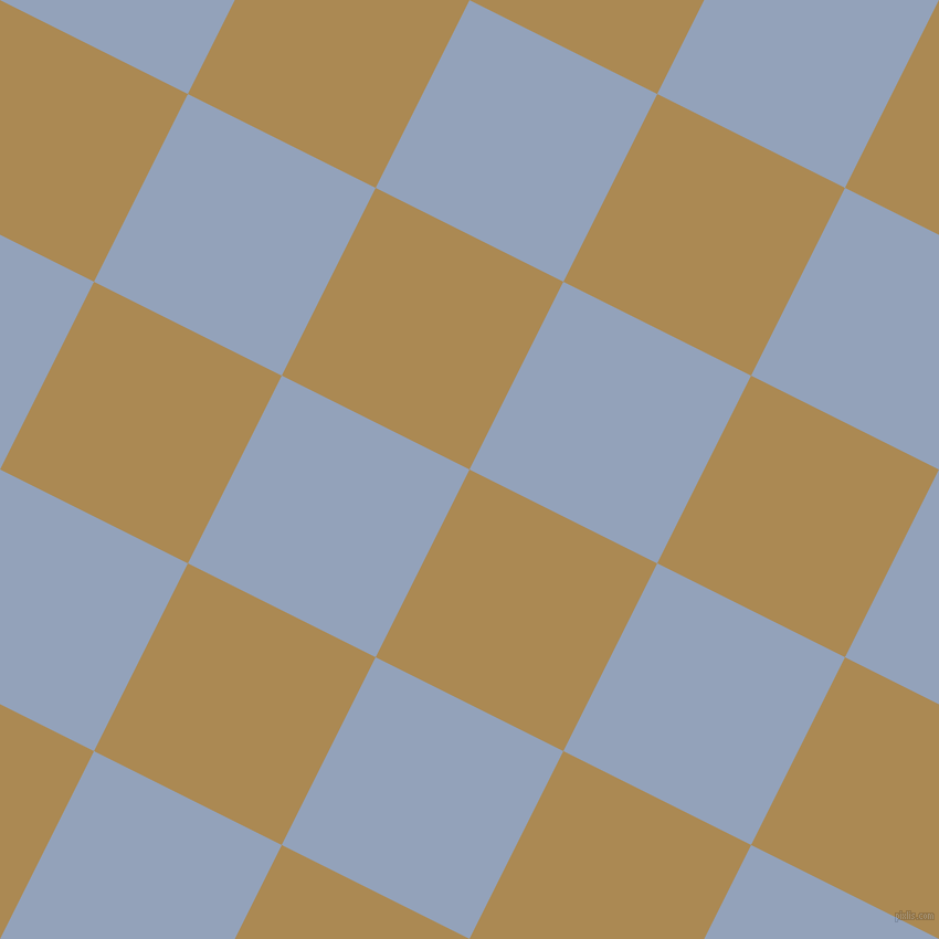 63/153 degree angle diagonal checkered chequered squares checker pattern checkers background, 190 pixel square size, , Teak and Rock Blue checkers chequered checkered squares seamless tileable