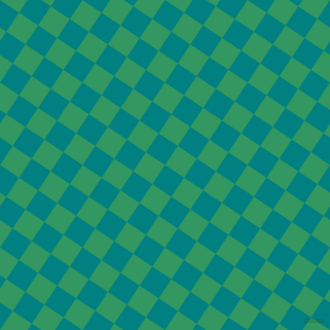 56/146 degree angle diagonal checkered chequered squares checker pattern checkers background, 45 pixel square size, , Teal and Eucalyptus checkers chequered checkered squares seamless tileable