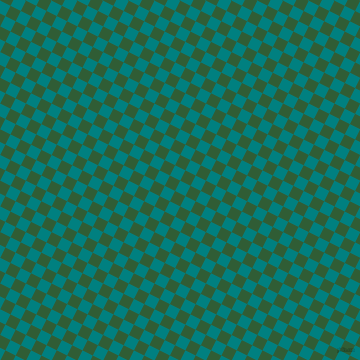 63/153 degree angle diagonal checkered chequered squares checker pattern checkers background, 23 pixel squares size, , Teal and Parsley checkers chequered checkered squares seamless tileable