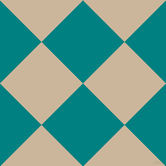 45/135 degree angle diagonal checkered chequered squares checker pattern checkers background, 191 pixel square size, , Teal and Vanilla checkers chequered checkered squares seamless tileable