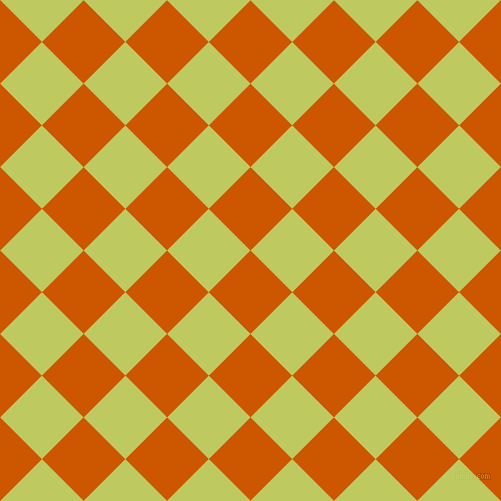 45/135 degree angle diagonal checkered chequered squares checker pattern checkers background, 59 pixel squares size, , Tenne Tawny and Wild Willow checkers chequered checkered squares seamless tileable