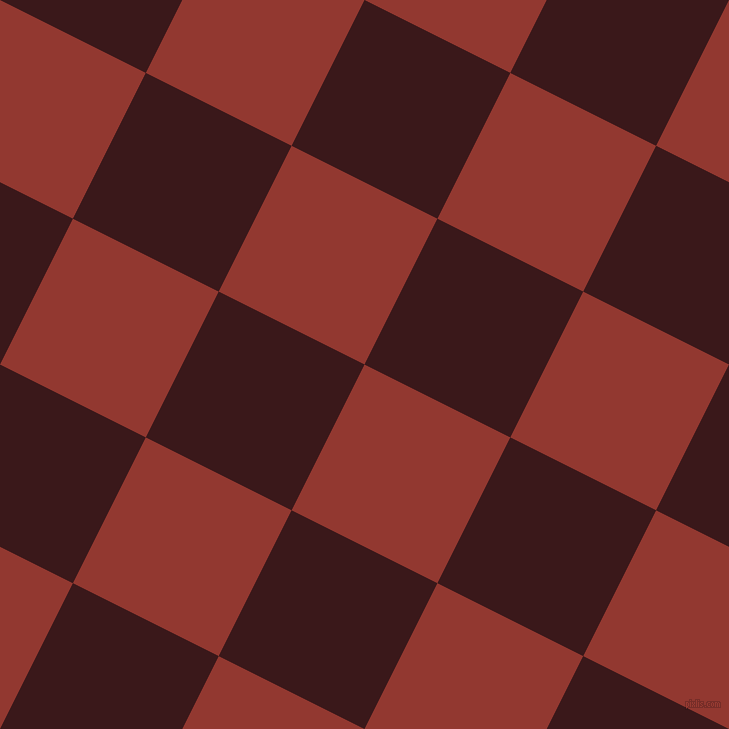 63/153 degree angle diagonal checkered chequered squares checker pattern checkers background, 163 pixel square size, , Thunderbird and Rustic Red checkers chequered checkered squares seamless tileable