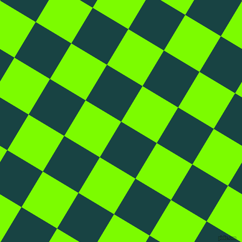 59/149 degree angle diagonal checkered chequered squares checker pattern checkers background, 82 pixel squares size, , Tiber and Lawn Green checkers chequered checkered squares seamless tileable