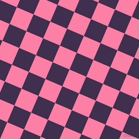 67/157 degree angle diagonal checkered chequered squares checker pattern checkers background, 63 pixel square size, , Tickle Me Pink and Jagger checkers chequered checkered squares seamless tileable