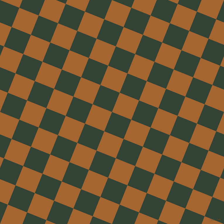 68/158 degree angle diagonal checkered chequered squares checker pattern checkers background, 71 pixel squares size, , Timber Green and Mai Tai checkers chequered checkered squares seamless tileable