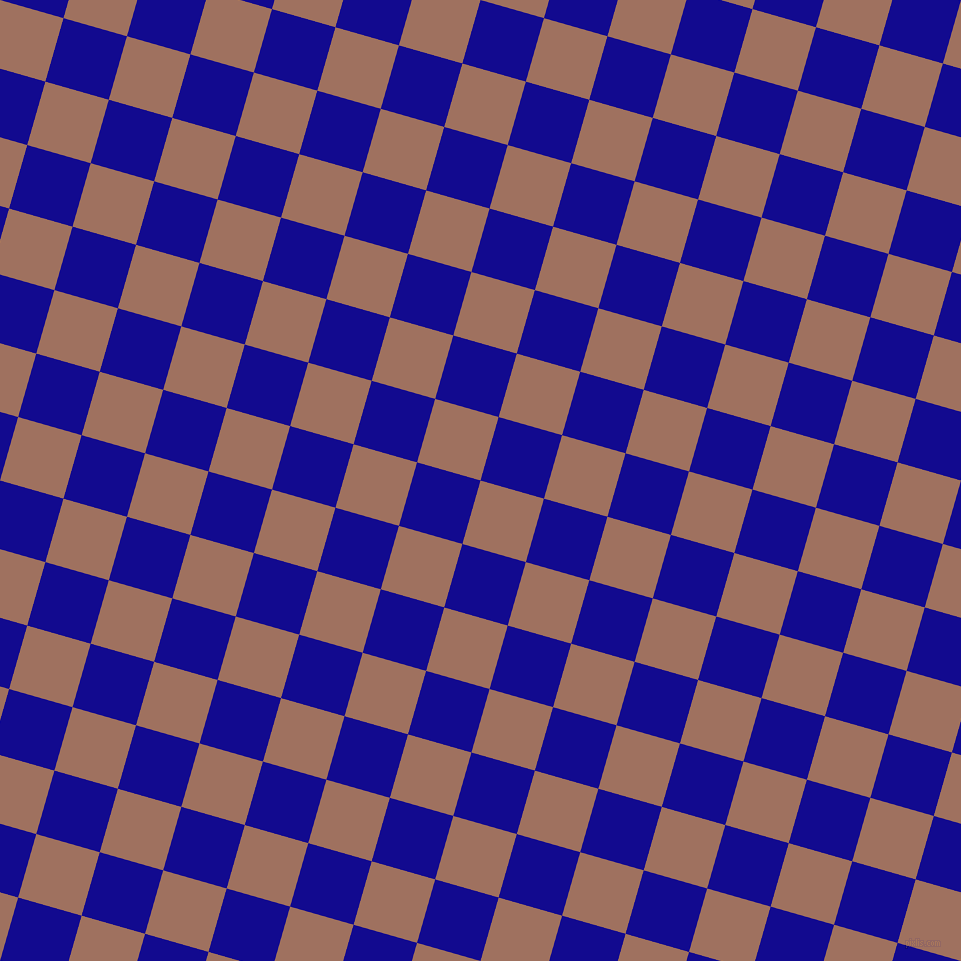 74/164 degree angle diagonal checkered chequered squares checker pattern checkers background, 66 pixel square size, , Toast and Ultramarine checkers chequered checkered squares seamless tileable