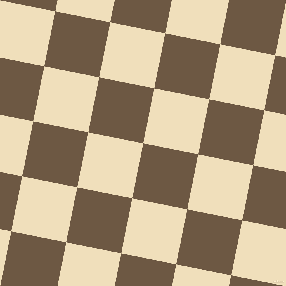 79/169 degree angle diagonal checkered chequered squares checker pattern checkers background, 192 pixel squares size, , Tobacco Brown and Dutch White checkers chequered checkered squares seamless tileable