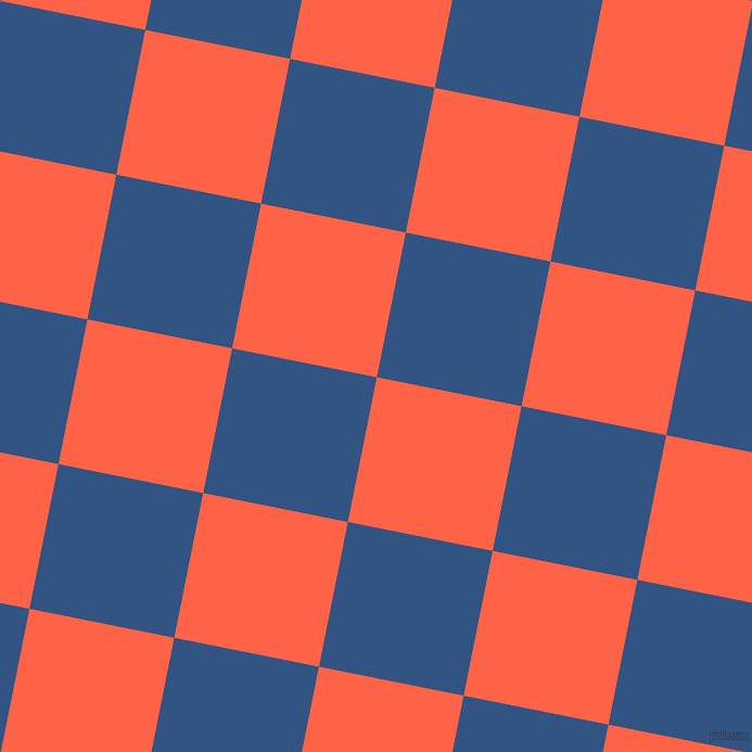 79/169 degree angle diagonal checkered chequered squares checker pattern checkers background, 136 pixel squares size, , Tomato and St Tropaz checkers chequered checkered squares seamless tileable