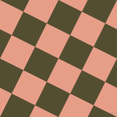 63/153 degree angle diagonal checkered chequered squares checker pattern checkers background, 91 pixel square size, , Tonys Pink and Thatch Green checkers chequered checkered squares seamless tileable