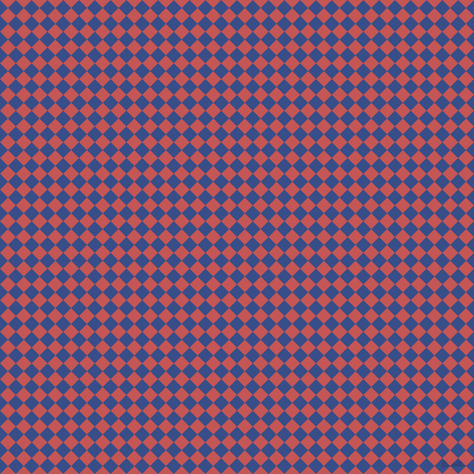 45/135 degree angle diagonal checkered chequered squares checker pattern checkers background, 16 pixel squares size, , Tory Blue and Fuzzy Wuzzy Brown checkers chequered checkered squares seamless tileable