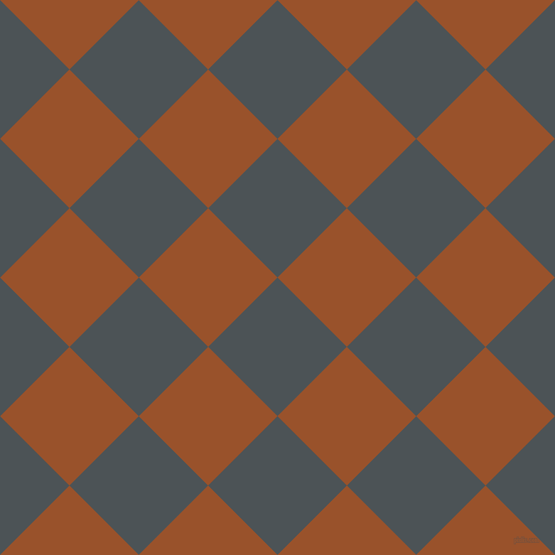 45/135 degree angle diagonal checkered chequered squares checker pattern checkers background, 138 pixel square size, , Trout and Hawaiian Tan checkers chequered checkered squares seamless tileable