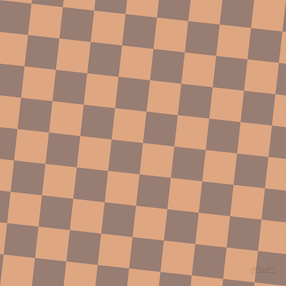 84/174 degree angle diagonal checkered chequered squares checker pattern checkers background, 46 pixel square size, , Tumbleweed and Hemp checkers chequered checkered squares seamless tileable