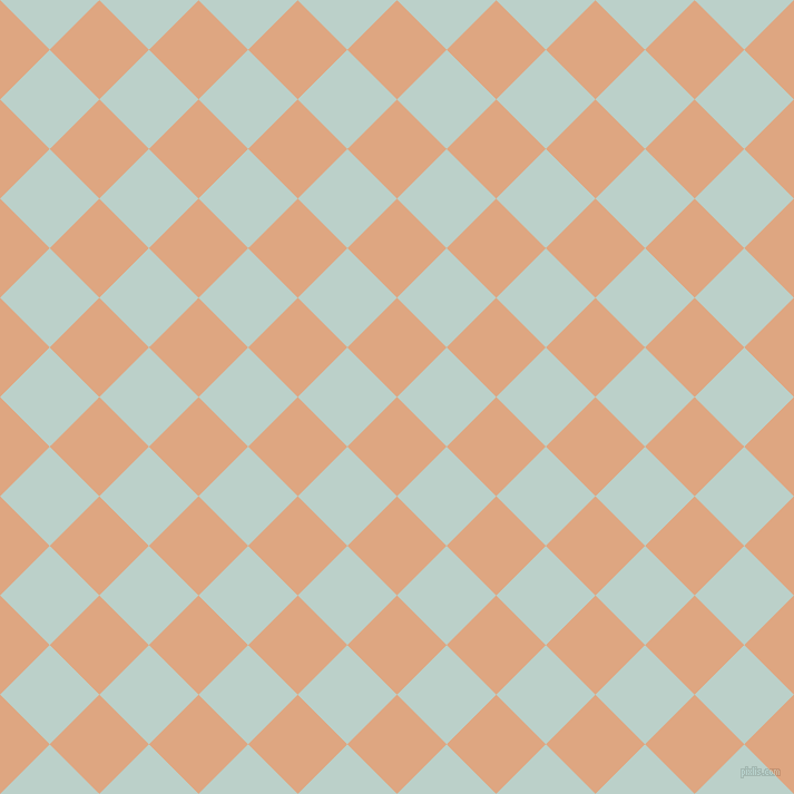 45/135 degree angle diagonal checkered chequered squares checker pattern checkers background, 63 pixel squares size, , Tumbleweed and Jet Stream checkers chequered checkered squares seamless tileable