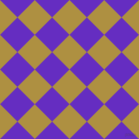 45/135 degree angle diagonal checkered chequered squares checker pattern checkers background, 80 pixel square size, , Turmeric and Purple Heart checkers chequered checkered squares seamless tileable