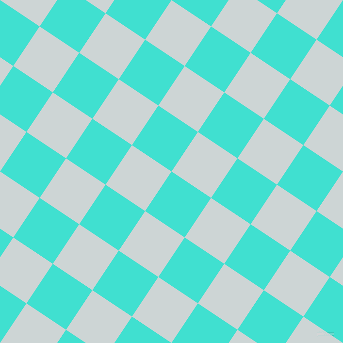 56/146 degree angle diagonal checkered chequered squares checker pattern checkers background, 98 pixel squares size, , Turquoise and Zumthor checkers chequered checkered squares seamless tileable