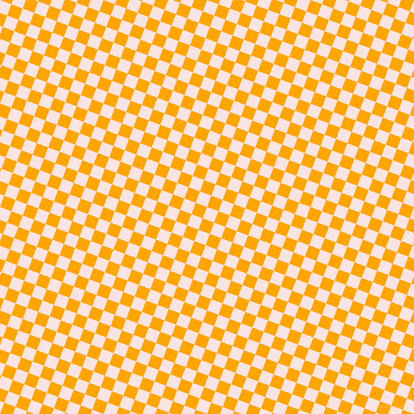 69/159 degree angle diagonal checkered chequered squares checker pattern checkers background, 17 pixel squares size, Tutu and Orange checkers chequered checkered squares seamless tileable
