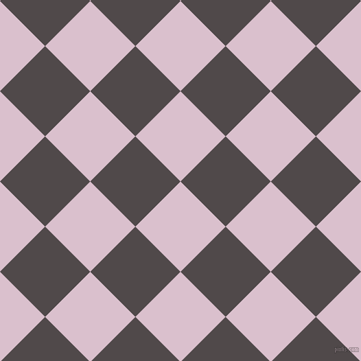 45/135 degree angle diagonal checkered chequered squares checker pattern checkers background, 93 pixel square size, , Twilight and Emperor checkers chequered checkered squares seamless tileable