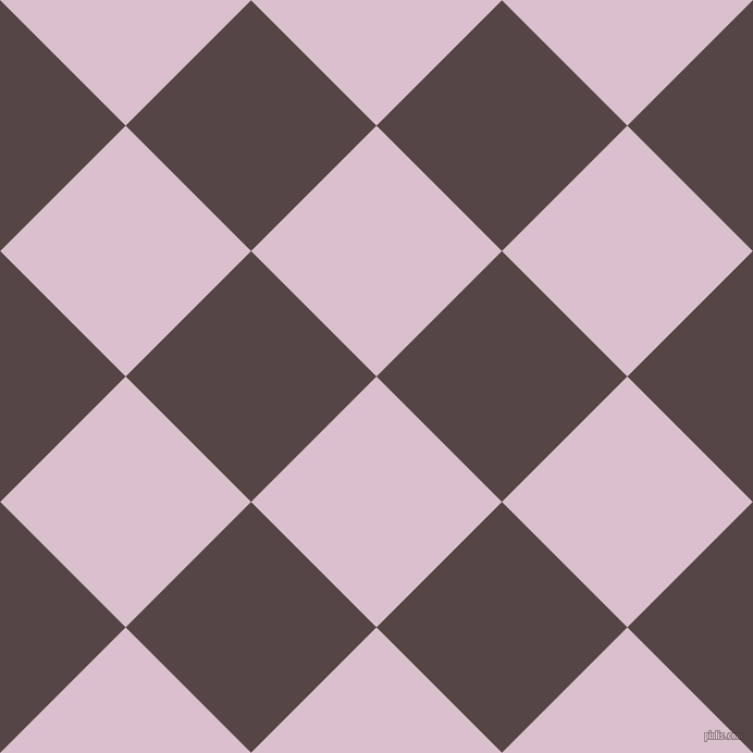 45/135 degree angle diagonal checkered chequered squares checker pattern checkers background, 163 pixel square size, , Twilight and Woody Brown checkers chequered checkered squares seamless tileable