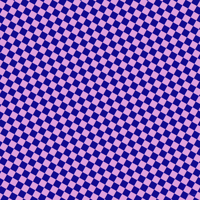 61/151 degree angle diagonal checkered chequered squares checker pattern checkers background, 26 pixel square size, , Ultramarine and Plum checkers chequered checkered squares seamless tileable