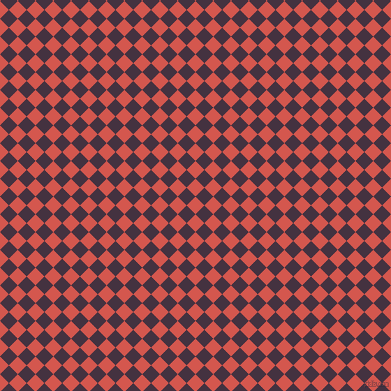45/135 degree angle diagonal checkered chequered squares checker pattern checkers background, 18 pixel squares size, , Valencia and Voodoo checkers chequered checkered squares seamless tileable