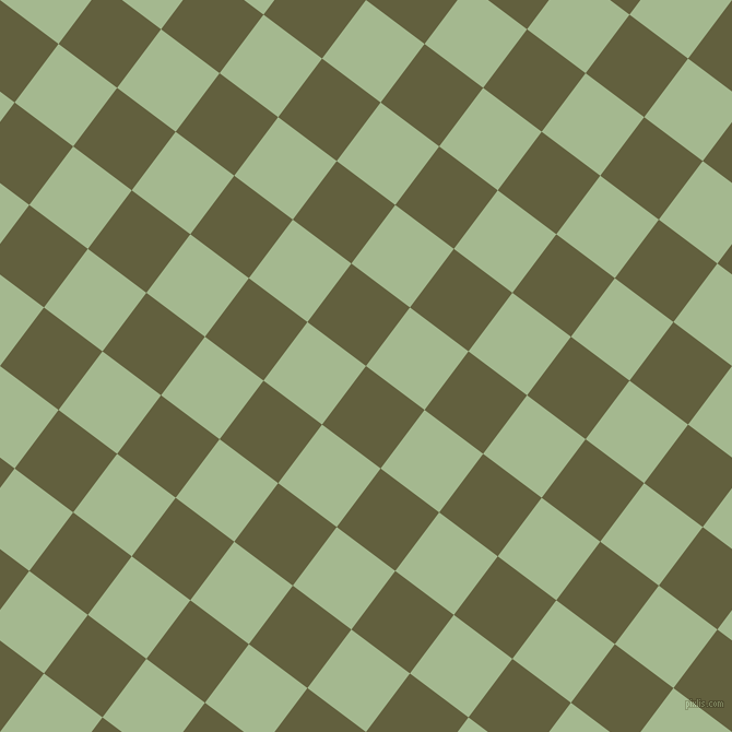 53/143 degree angle diagonal checkered chequered squares checker pattern checkers background, 67 pixel square size, , Verdigris and Norway checkers chequered checkered squares seamless tileable