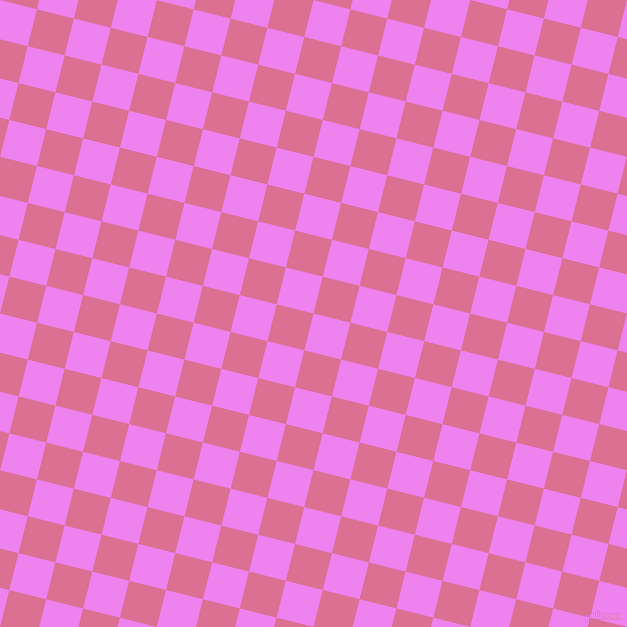 76/166 degree angle diagonal checkered chequered squares checker pattern checkers background, 38 pixel square size, , Violet and Pale Violet Red checkers chequered checkered squares seamless tileable