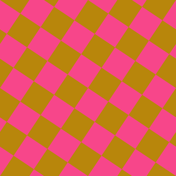 56/146 degree angle diagonal checkered chequered squares checker pattern checkers background, 80 pixel square size, , Violet Red and Dark Goldenrod checkers chequered checkered squares seamless tileable