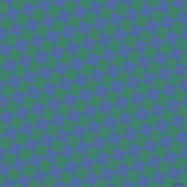 60/150 degree angle diagonal checkered chequered squares checker pattern checkers background, 38 pixel squares size, , Viridian and San Marino checkers chequered checkered squares seamless tileable
