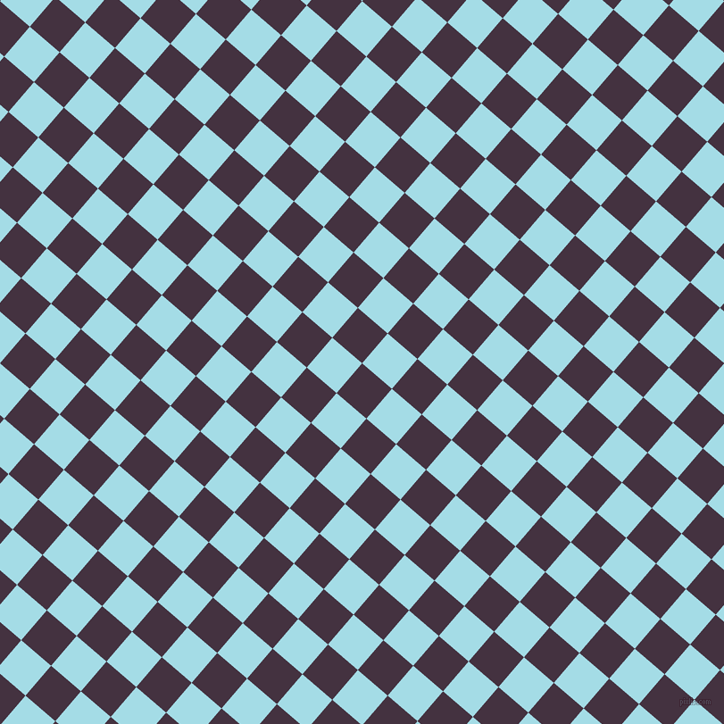 49/139 degree angle diagonal checkered chequered squares checker pattern checkers background, 44 pixel squares size, , Voodoo and Charlotte checkers chequered checkered squares seamless tileable