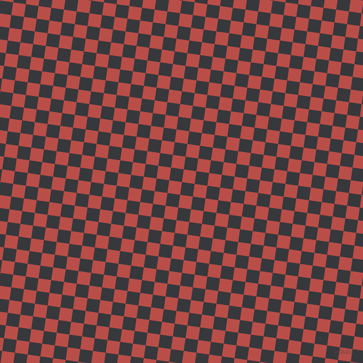 82/172 degree angle diagonal checkered chequered squares checker pattern checkers background, 25 pixel squares size, , Vulcan and Chestnut checkers chequered checkered squares seamless tileable