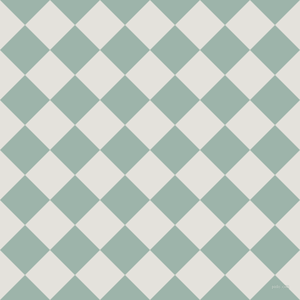 45/135 degree angle diagonal checkered chequered squares checker pattern checkers background, 72 pixel squares size, , Wan White and Skeptic checkers chequered checkered squares seamless tileable