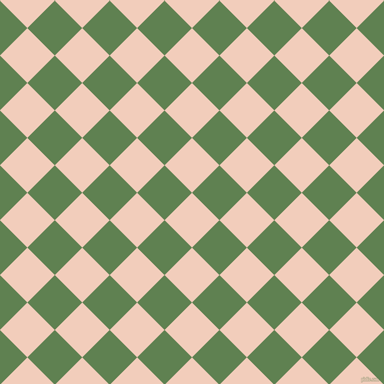 45/135 degree angle diagonal checkered chequered squares checker pattern checkers background, 76 pixel square size, , Watusi and Glade Green checkers chequered checkered squares seamless tileable