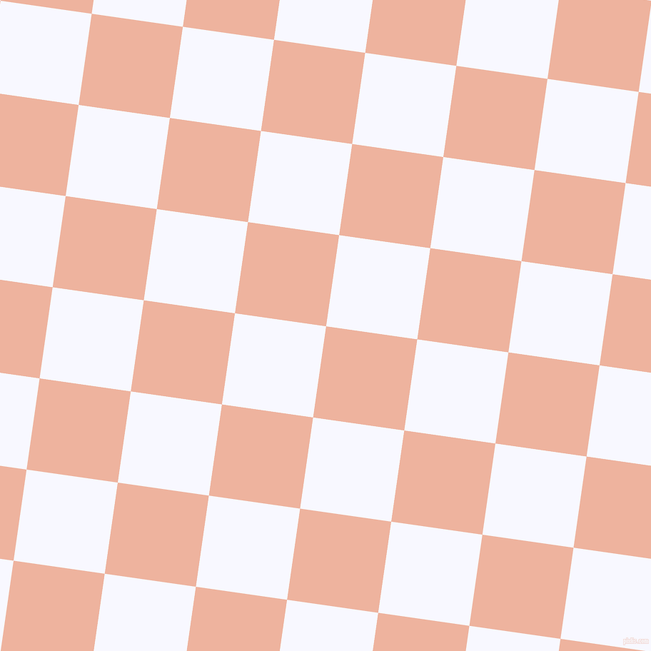 82/172 degree angle diagonal checkered chequered squares checker pattern checkers background, 129 pixel squares size, , Wax Flower and Ghost White checkers chequered checkered squares seamless tileable